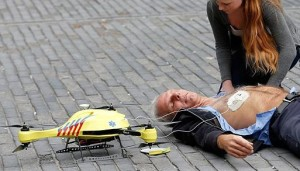 flying AED